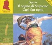 Mozart: Il sogno di Sciopione & Così fan tutte
