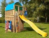 Jungle Gym – Villa Playhouse 145 - Speeltoren - Met Glijbaan - Geel