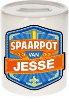 Kinder spaarpot voor Jesse - keramiek - naam spaarpotten