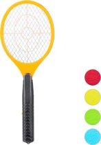 relaxdays elektrische vliegenmepper - tegen muggen   vliegen - vliegen mepper elektrisch Oranje