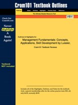 Studyguide for Management Fundamentals