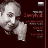 Rachmaninoff, Scirbin, Prokofiev