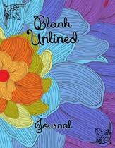 Blank Unlined Journal