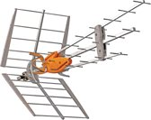 DVB-T/T2 Outdoor Antenna 42 dB UHF