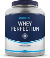 Body & Fit Whey Perfection - Eiwitpoeder / Eiwitshake - 2270 gram - Chocolate Cookie milkshake