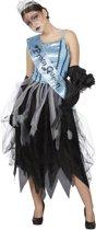 Zombie prom queen jurk voor dame maat 42