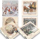 setje 2: Anton Pieck kerstkaartenboxje (20 krt)