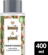 Love Beauty and Planet Happy and Hydrated Shea Butter & Sandalwood Conditioner 400 ml