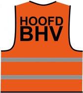 BHV hesje oranje 'Hoofd BHV'