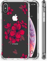 iPhone X | Xs Hoesje Design Blossom Red