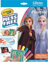 Crayola - Frozen 2 - Color Wonder Glitter set