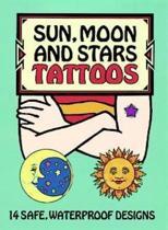 Sun, Moon and Stars Tattoos