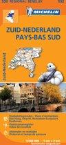 Michelin 532 Zuid-Nederland - Pays-Bas Sud