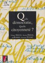 Quelle démocratie, quelle citoyenneté ?