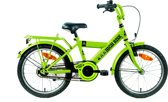 Kinderfiets Bike Fun High Risk jongens 18 inch groen