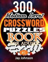300+ Medium Level Crossword Puzzles Book For Adults