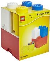 Lego Storage Brick - Set van 4 stuks - Assorti