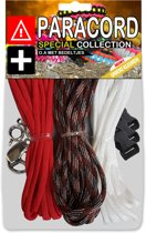 Paracord Set - Special Collection (Rood / Earth Tone / Wit)