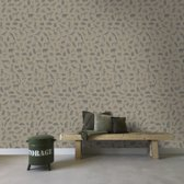 Stapelgoed - Fotobehang - Dieren - Groen/Bruin - 150x280cm