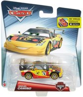 Disney Cars auto Miguel Camino carbon fiber racer - Mattel