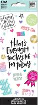 Me and My Big Idea's - Happy Planner Stickers -  Adultish