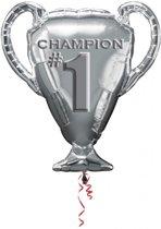 Champion 1 folieballon XL 71 x 63 cm.