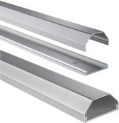 Hama Aluminium Cable Duct, silver