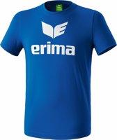 Erima Basics Promo T-Shirt - Shirts  - blauw - 2XL