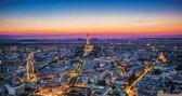 Fotobehang Parijs | Blauw | 416x254