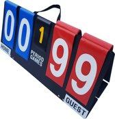 Scorebord Draagbaar | Inklapbaar 00-99