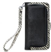 Mobilize 2in1 Gelly Wallet Zipper Case Apple iPhone X/XS Black/Zebra