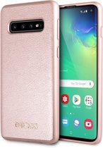 Samsung Galaxy S10 hoesje - Guess - Rose goud