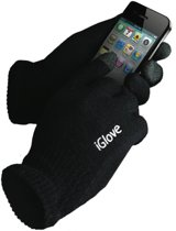 iGlove Touchscreen handschoenen (touch gloves), Zwart