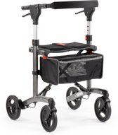 MultiMotion rollator Trollimaster RA60 Antraciet small Stevig zitje - Gewicht 7,2 kg