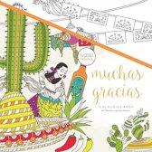 Kaisercraft Kleurboek voor Volwassenen Muchas Gracias