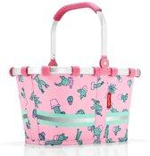 Reisenthel Carrybag Xs Kids Boodschappenmand - Maat XS - Polyester - 5 L - Pink Roze