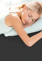 Schlafgut Hoeslaken Frottee Stretch (badstof) - 075-schwarz 90/190x100/200