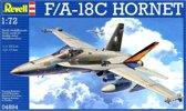 Revell Modelbouwdoos F/a-18c Hornet 23,5 Cm Schaal 1:72