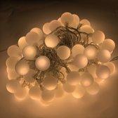 Feestverlichting warm wit - 40 LED - 6 meter