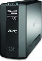 APC Back-UPS PRO BR550GI - Noodstroomvoeding / 6x C13 aansluiting / USB /  550VA