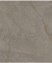 La Veneziana 3 uni bruin behang (vliesbehang, bruin)