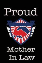 Proud Mother in Law: Union Jobs Family Lined Notebook Journal