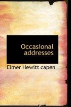 Occasional Addresses