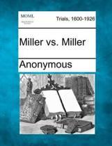 Miller vs. Miller