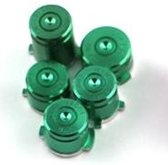 Green Alu Bullet buttons - x box one