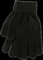 Paardrijhandschoen Grippy zwart