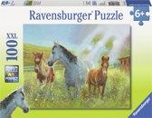 Ravensburger puzzel Paarden in de wei 100 XXL stukjes