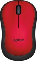 Logitech M220 - Draadloze Muis - Rood