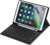 Luxe Bluetooth Keyboard Hoes 2018 voor iPad 9.7 – Qwerty Toetsenbord Case Zwart
