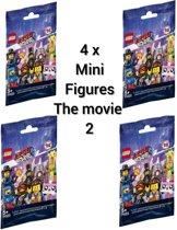 LEGO Minifigures The Movie 2 - ontvang 4 stuks  71023  ( 4 stuks GRATIS VERZENDING)